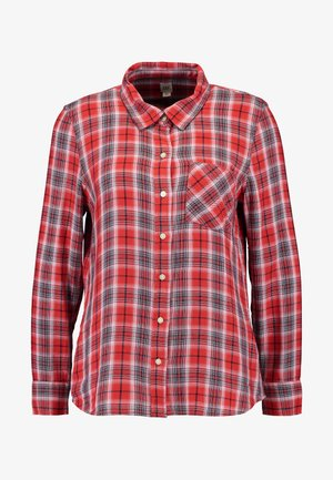 DRAPEY PLAID - Overhemdblouse - red/blue