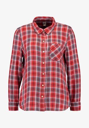 DRAPEY PLAID - Koszula - red/blue