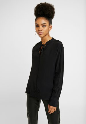 TIE ZEN - Blouse - true black