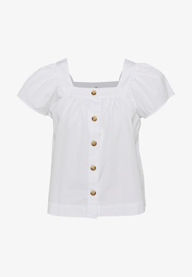 Blouse - optic white