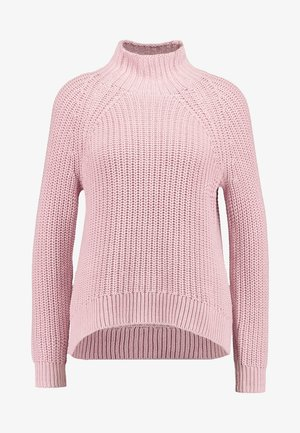 SHAKER TNECK - Pullover - blush