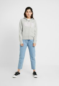 GAP Petite - Jersey con capucha - light heather grey - 1