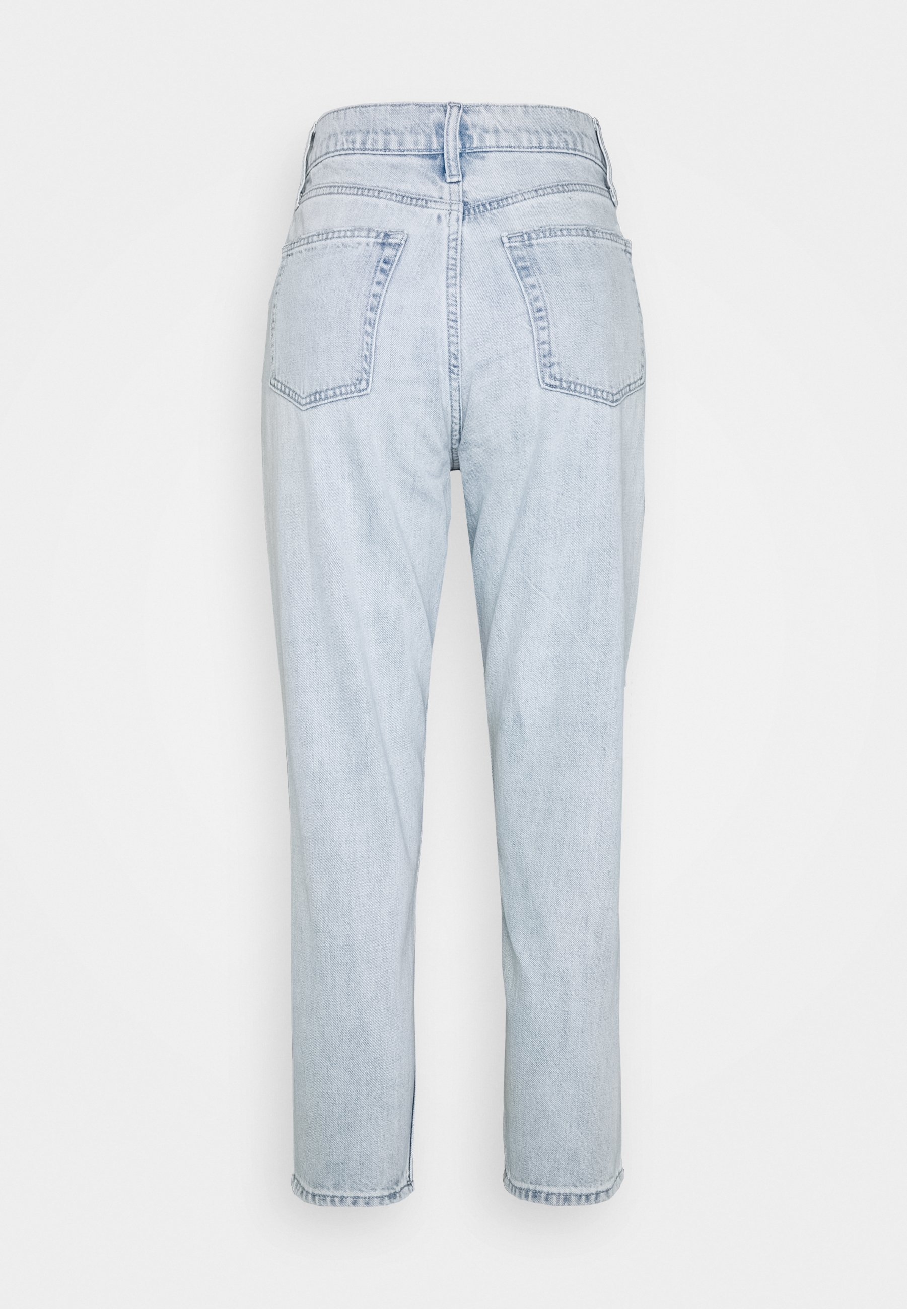 Gap Petite Mom Jean Caspian - Relaxed Fit Jeans Light Indigo