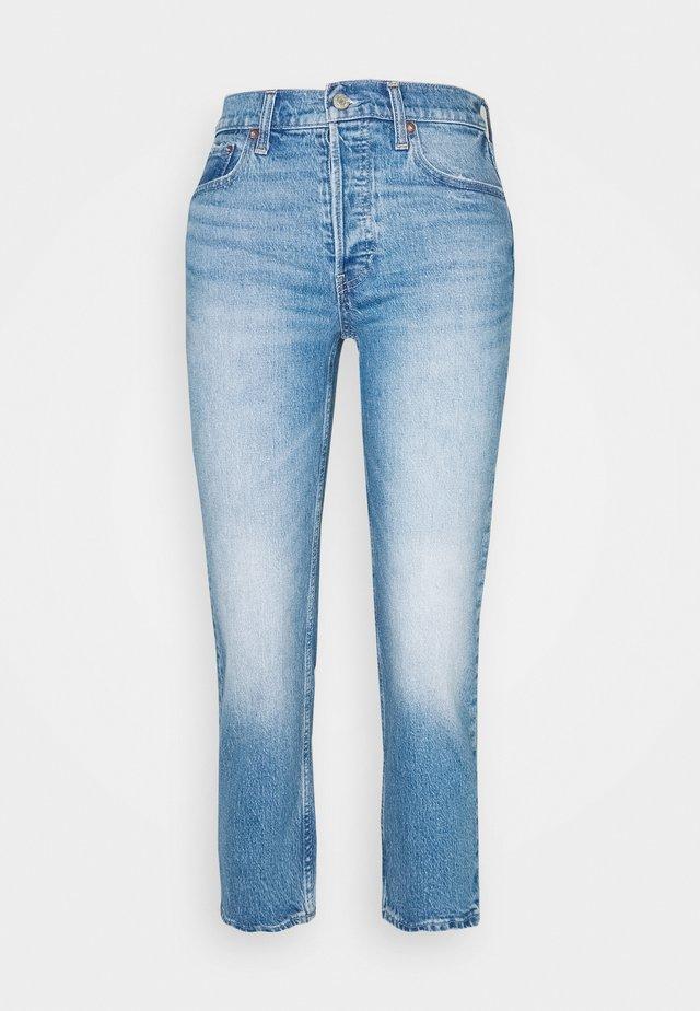 CHEEKY STRAIGHT ATLANTIC - Jeansy Skinny Fit - medium indigo
