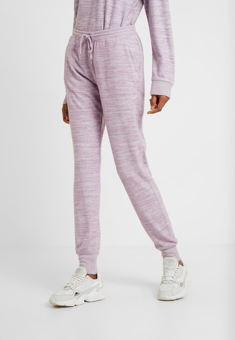 Gap Tall - COZY - Tracksuit bottoms - amethyst