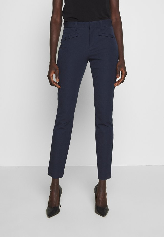 SKINNY ANKLE BISTRETCH TALL - Kalhoty - true indigo