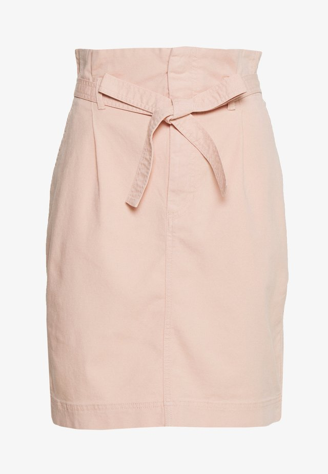 PAPERBAG SKIRT - Pencil skirt - pink fairy