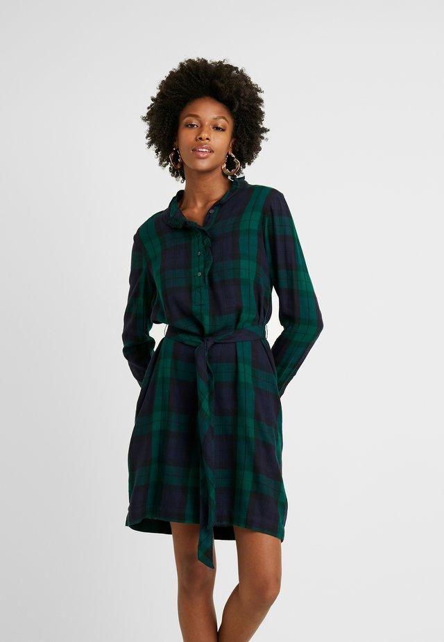 HENLY - Shirt dress - green