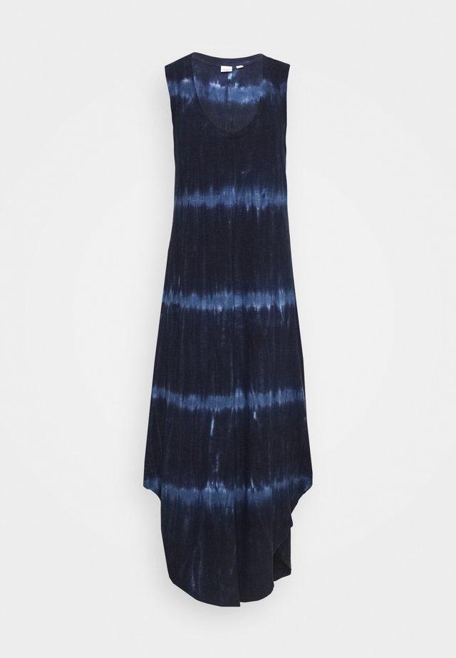 TIE DYE - Długa sukienka - blue