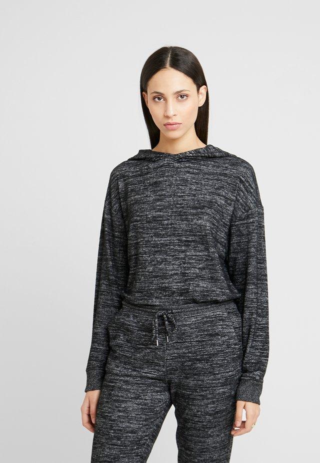 COZY - Stickad tröja - black