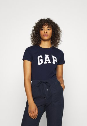 TEE - Print T-shirt - navy uniform