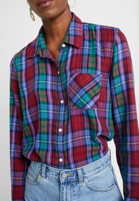 Gap Tall - DRAPEY PLAID - Košile - purple combo - 5