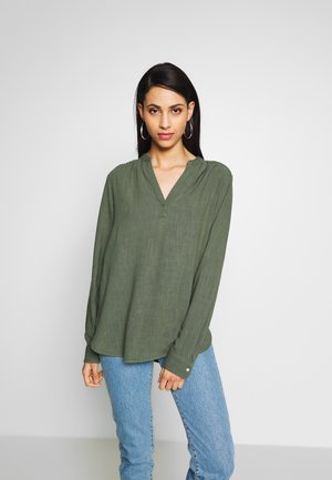 DRAPEY POPOVER TALL - Blouse - cool olive