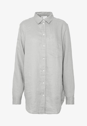 Button-down blouse - sage