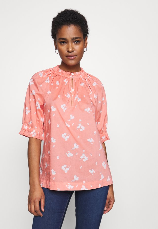 TOP TALL - Bluser - milk peach floral