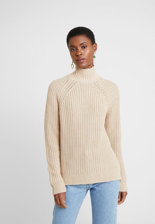 Neule - oatmeal heather