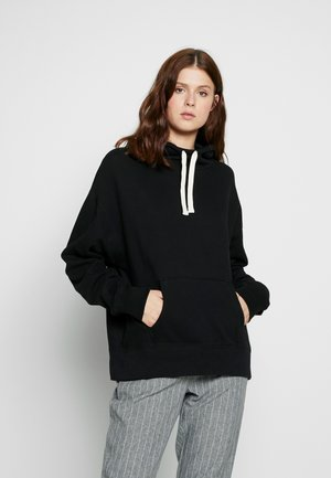 Sweat à capuche - true black