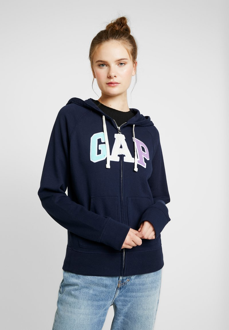 Gap Tall - Zip-up hoodie - navy uniform