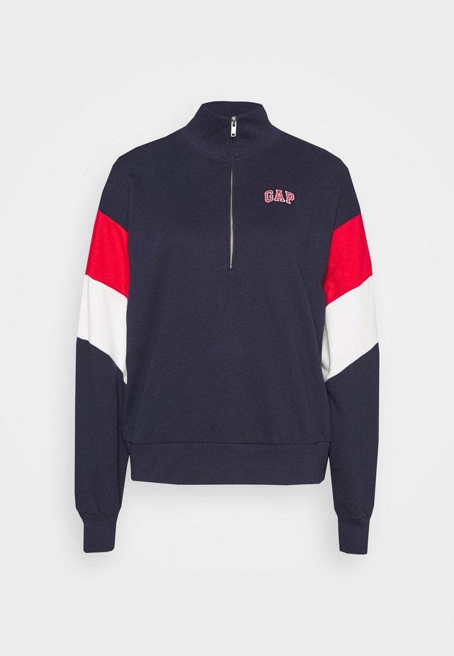 USA HALF ZIP - Sweatshirt - dark blue