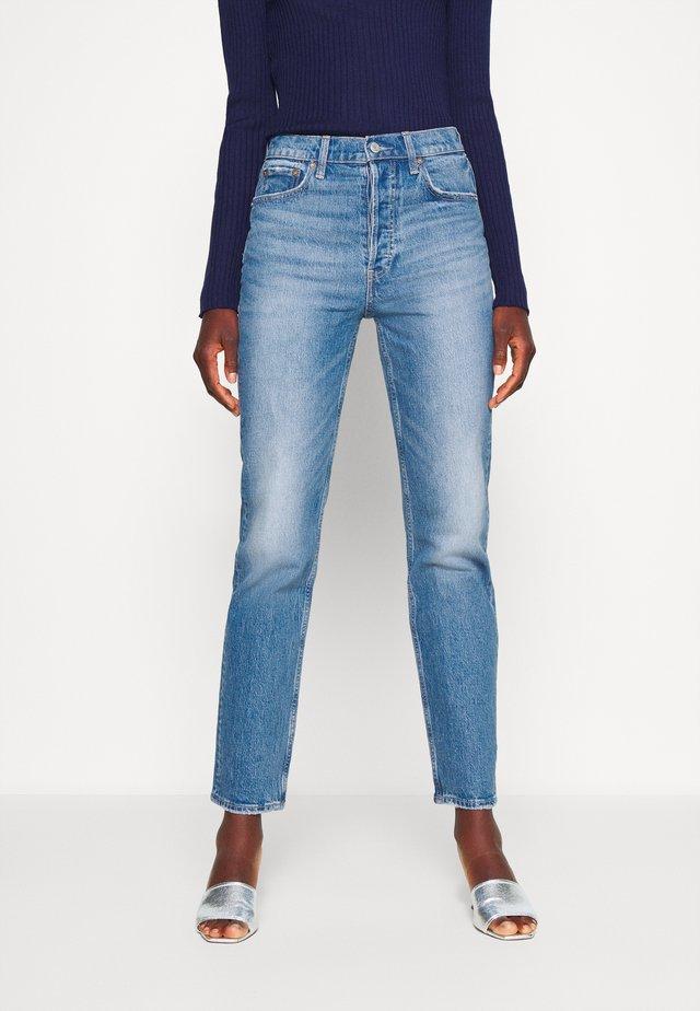 CHEEKY STRAIGHT MED ATLANTIC - Skinny džíny - medium indigo