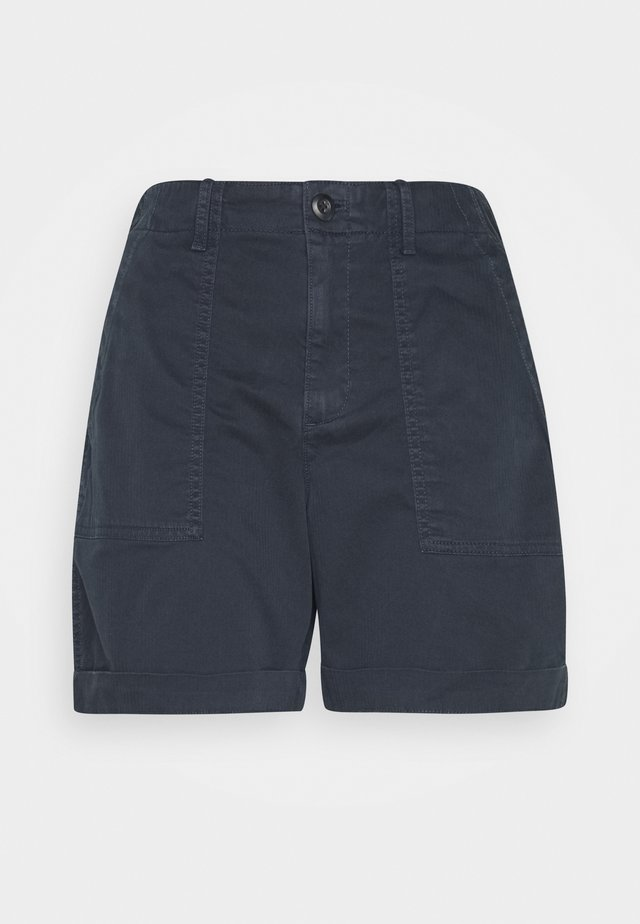 KHAKI SHORT UTILITY - Shorts - true indigo