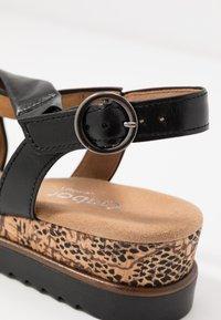 Gabor Comfort - Sandalen met sleehak - schwarz - 2