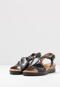 Gabor Comfort - Sandalen met sleehak - schwarz - 4