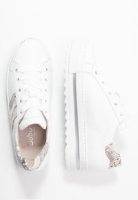 Gabor Comfort - Sneakers laag - weiß/natur - 3