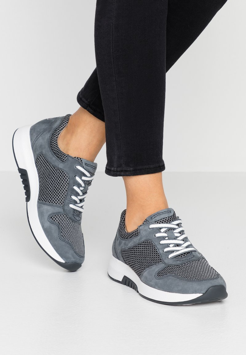 Gabor Comfort - ROLLING SOFT - Sneakers laag - grey/river