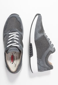 Gabor Comfort - ROLLING SOFT - Sneakers laag - grey/river - 3