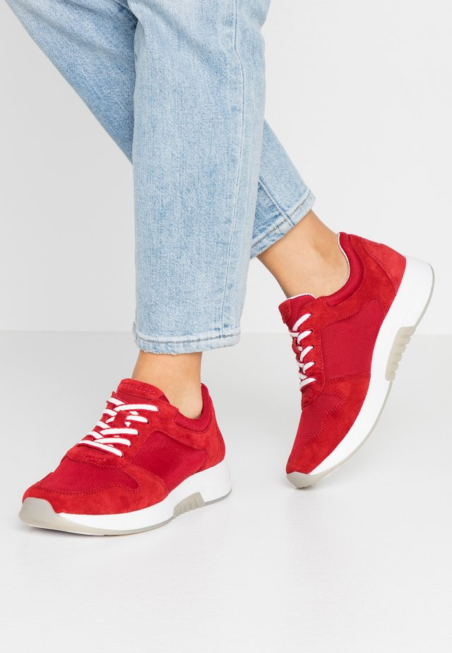 ROLLING SOFT - Trainers - red