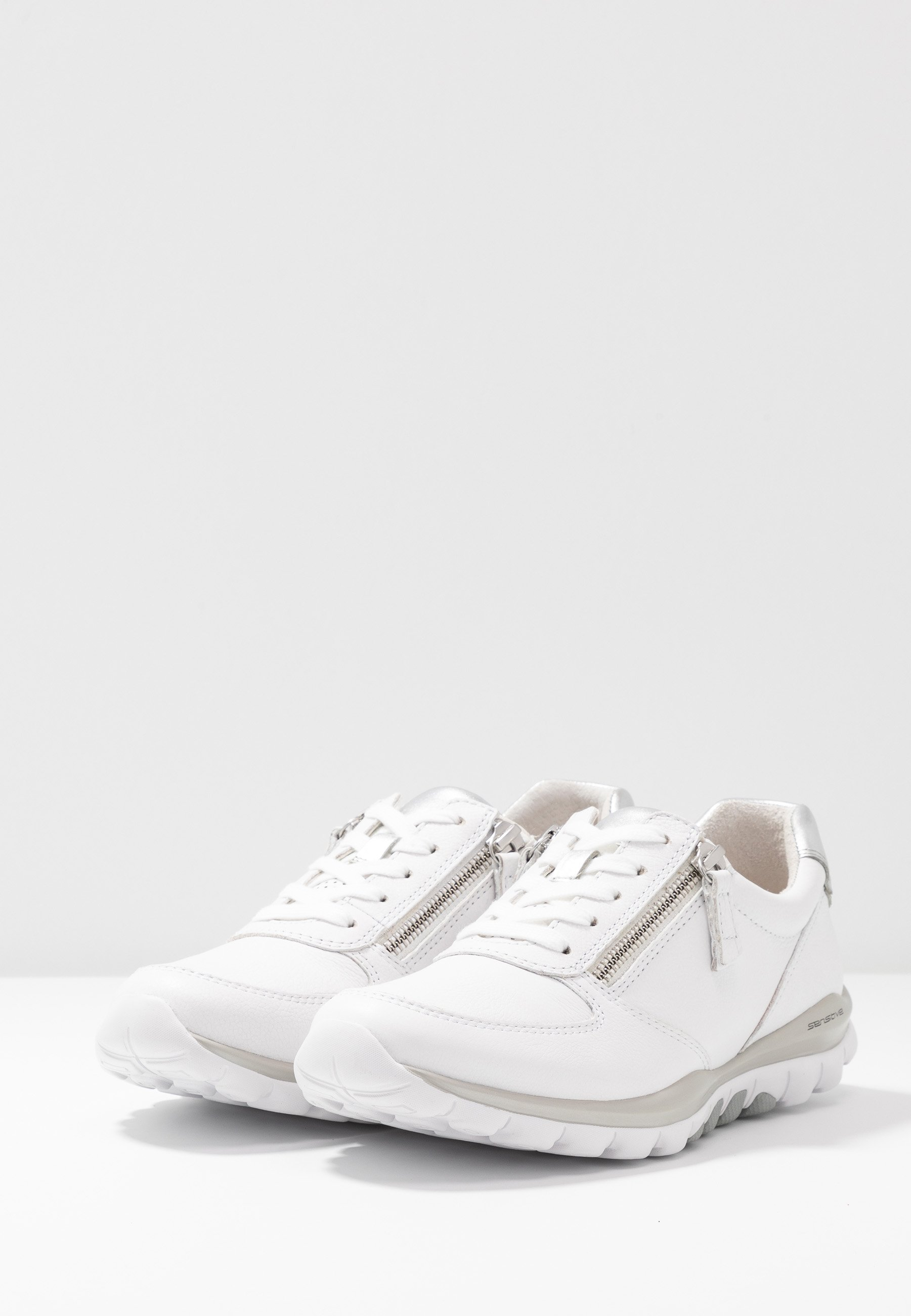 Gabor Comfort Rolling Soft - Sneakers Weiß/silber