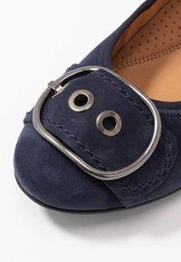 Gabor Comfort - Baleríny - blu - 2