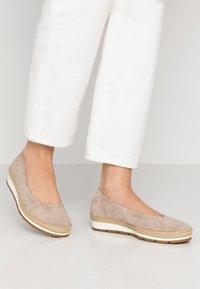 Gabor Comfort - Ballet pumps - silk - 0