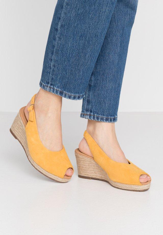 Platform sandals - mango