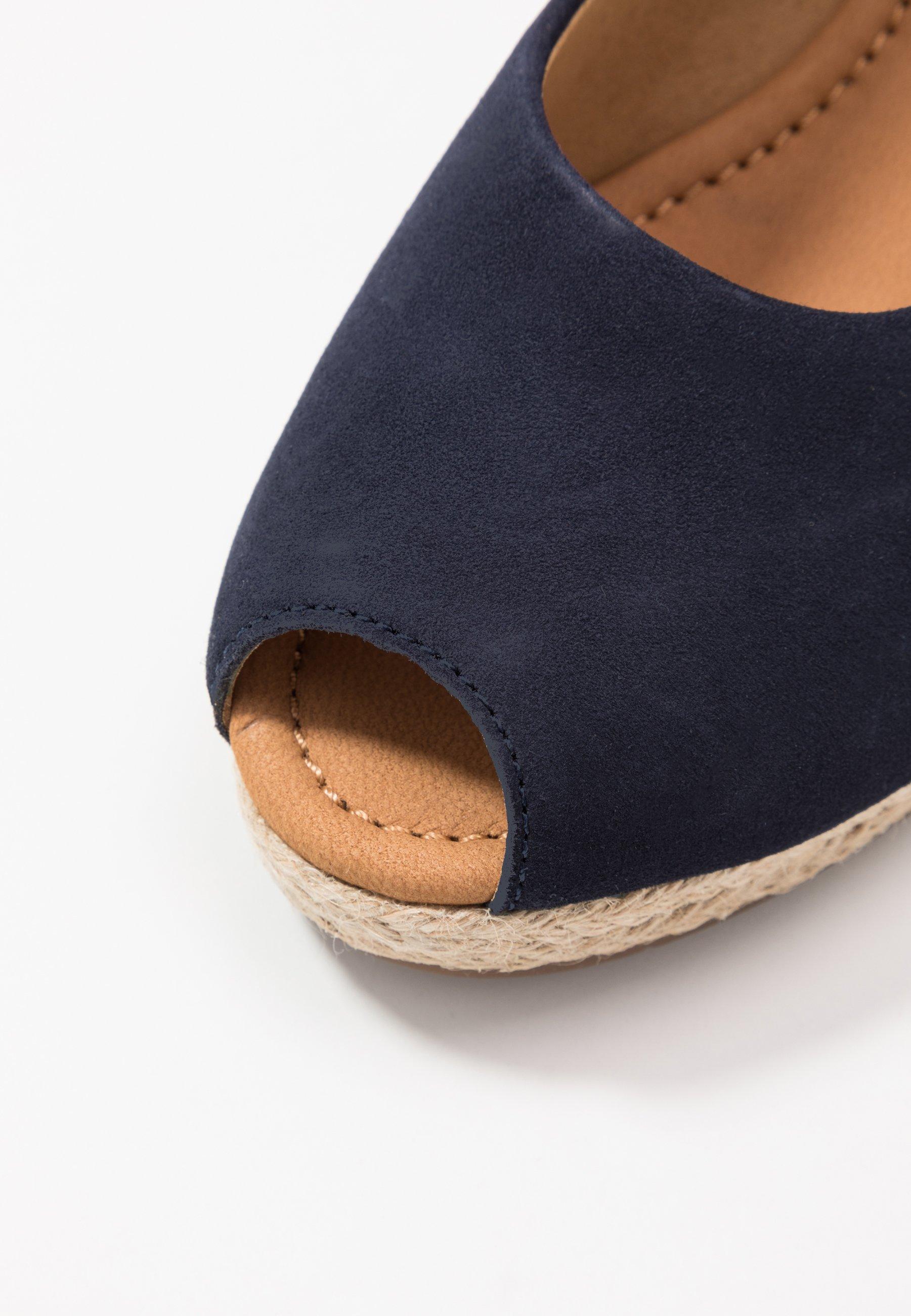 Gabor Comfort Sandalen Met Plateauzool - Bluette Goedkope Schoenen