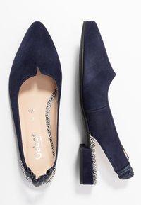 Gabor Comfort - Sling-Ballerina - bluette - 3