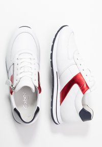 Gabor Comfort - Sneakers - weiß/pazifik/rosso - 3