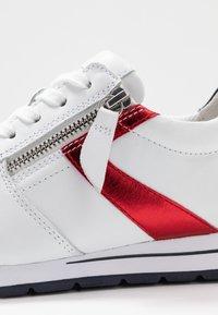 Gabor Comfort - Sneakers - weiß/pazifik/rosso - 2