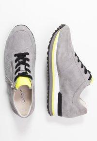 Gabor Comfort - Sneakers - donkey/neongelb - 3