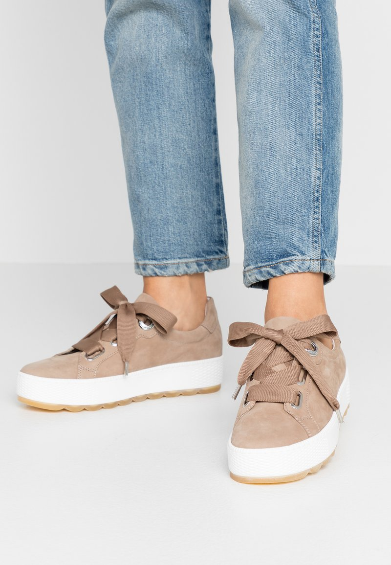 Gabor Comfort - Sneakers laag - taupe