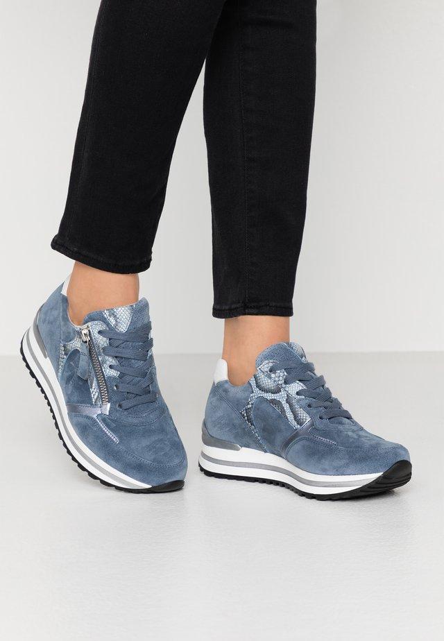 Sneakers - nautic/azur/weiss