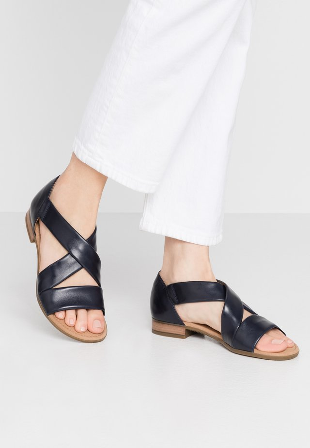 Sandalen - midnight