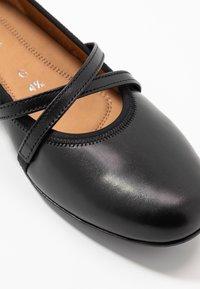 Gabor Comfort - Ballerinasko m/ rem - schwarz - 2