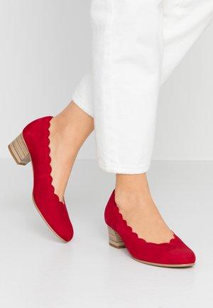 Escarpins - rubin