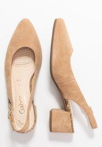 Gabor Comfort - Classic heels - caramel - 3
