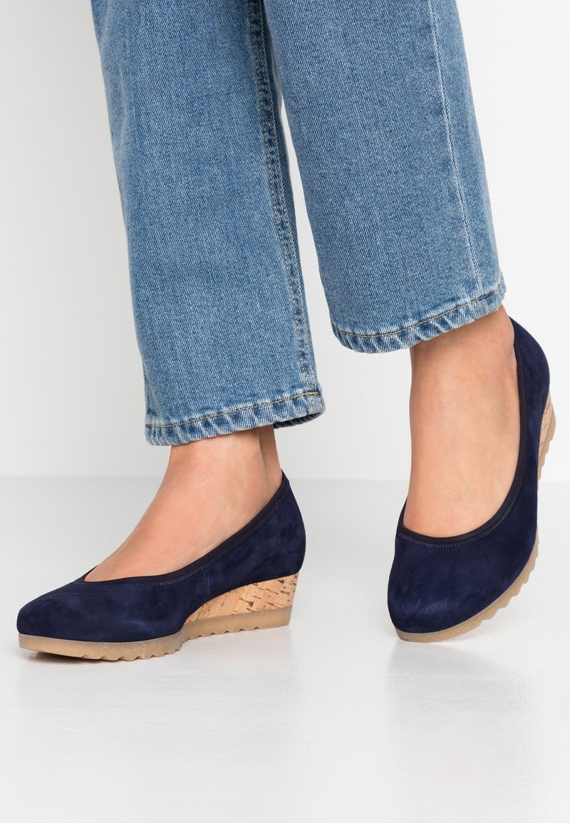 Gabor Comfort - Wedges - bluette