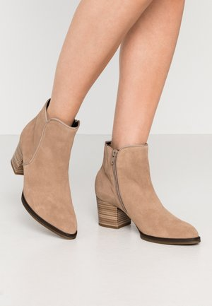 Ankle boots - desert