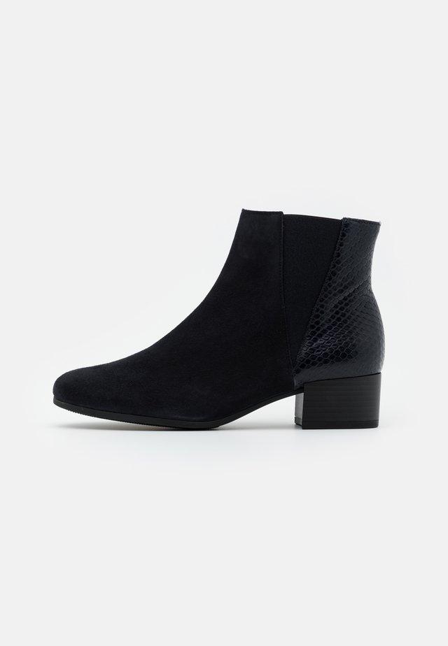 Kotníková obuv - pazifik