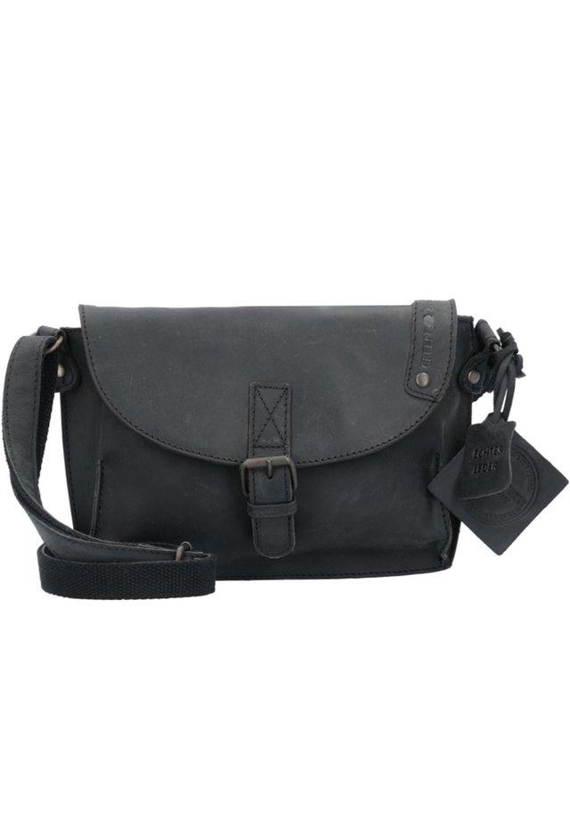 VINTAGE REVIVAL LEDER - Across body bag - black